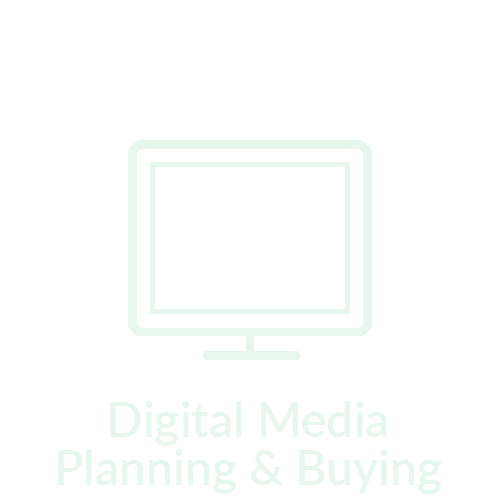 digital media planning and buying icon